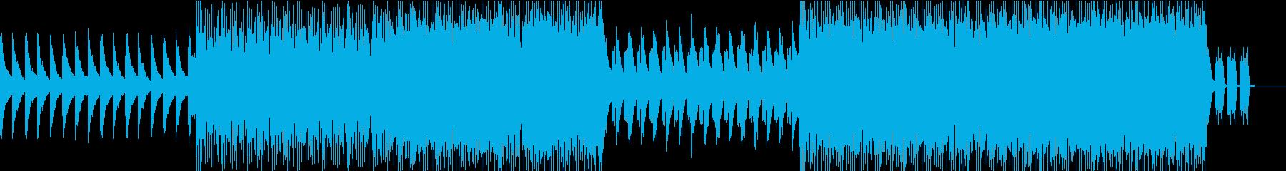 力強く壮大でミステリアスな曲の再生済みの波形
