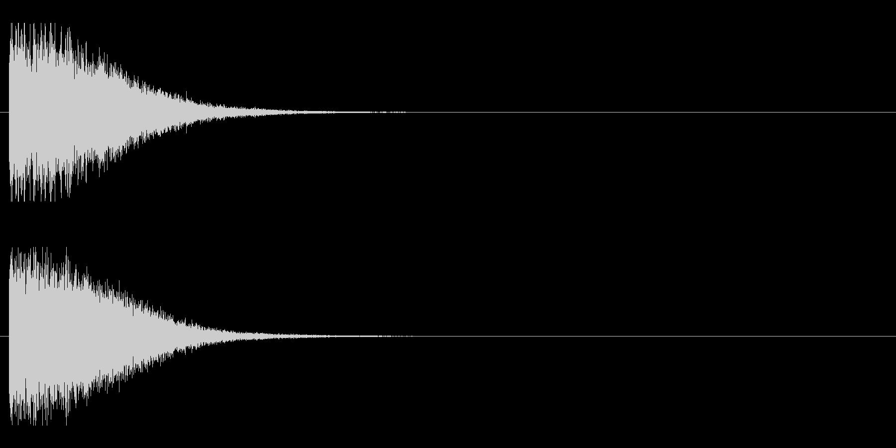 レーザー音-148-1の未再生の波形