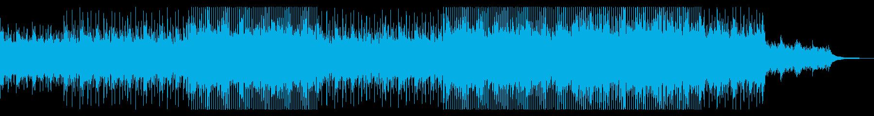 【メロディ抜き】アップテンポで綺麗なコーの再生済みの波形