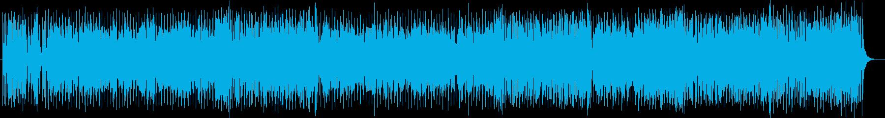爽やかで楽しげな管楽器シンセサウンドの再生済みの波形