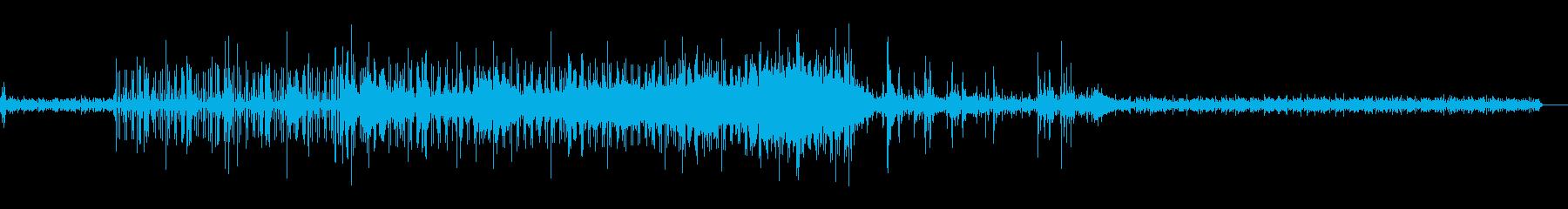 こだわりアンダーグラウンドなtechnoの再生済みの波形