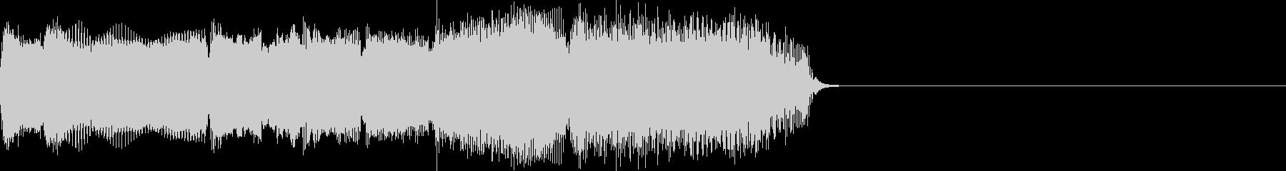 ブルースギターのワンフレーズの未再生の波形