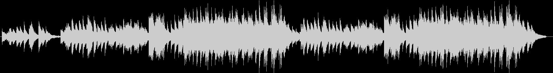 心安らぐいい曲 ピアノVerの未再生の波形