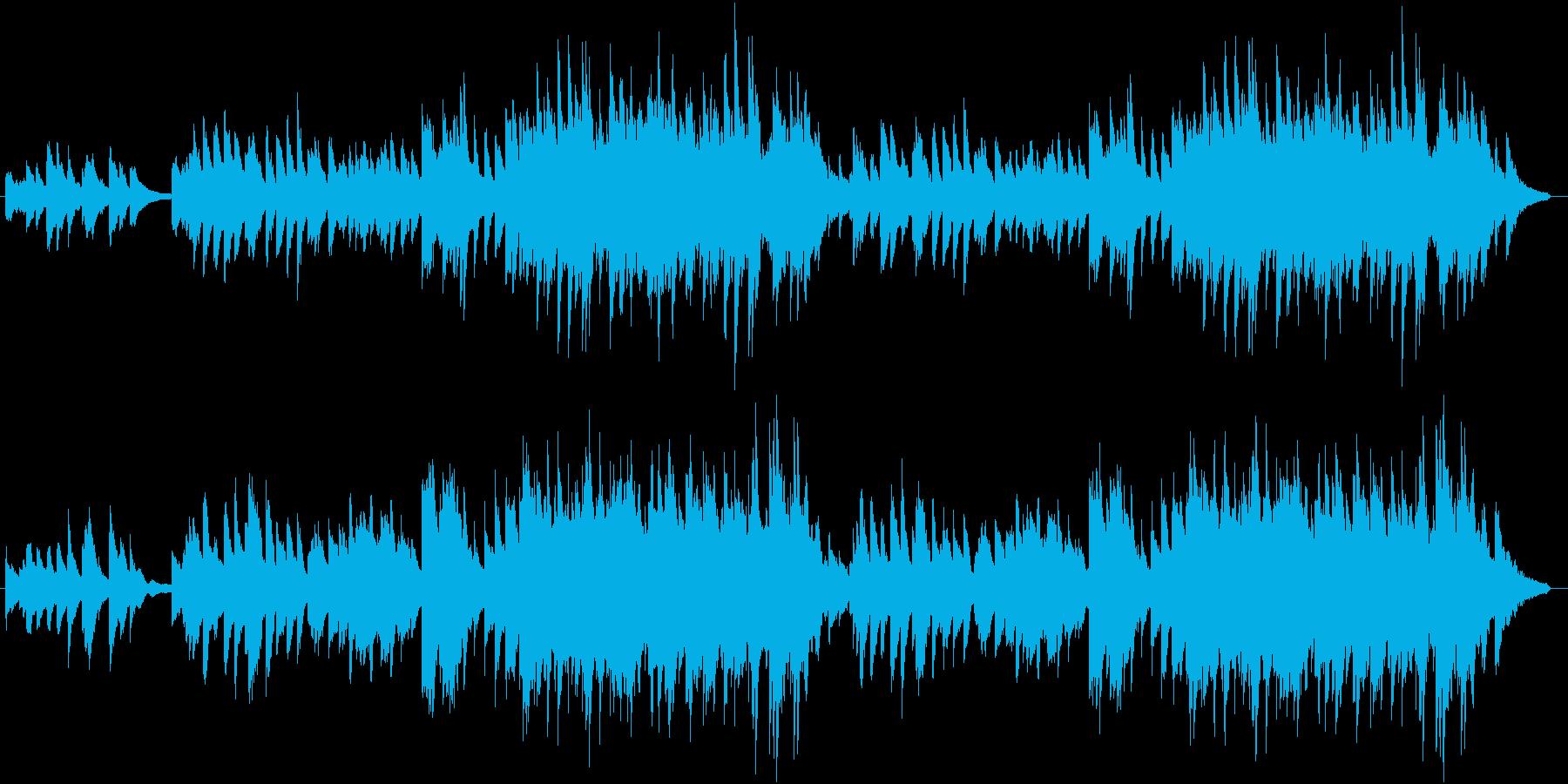 心安らぐいい曲 ピアノVerの再生済みの波形