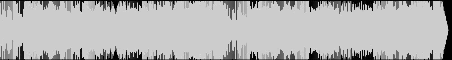 三味線+ロックの未再生の波形