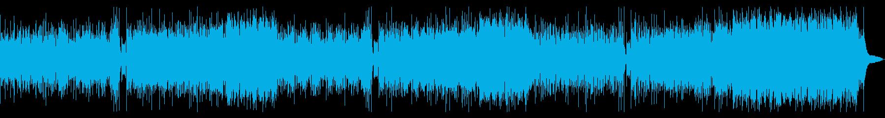 コーラスシンセが印象的な元気印のラテンの再生済みの波形