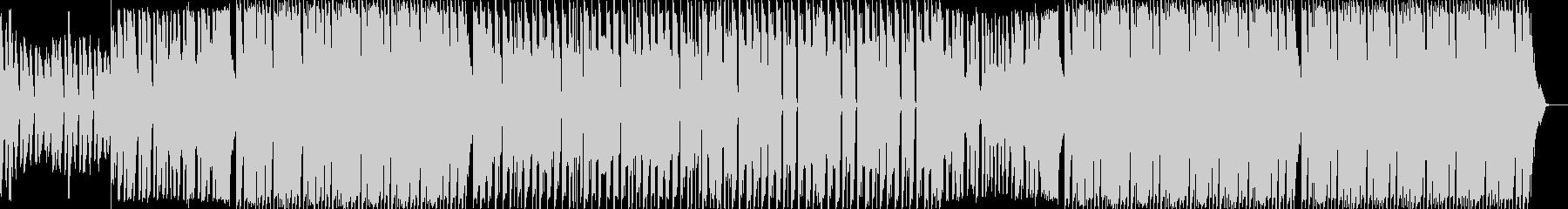 ダンス・重低音・エレクトロ・ショートの未再生の波形