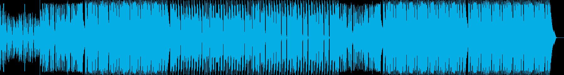 ダンス・重低音・エレクトロ・ショートの再生済みの波形