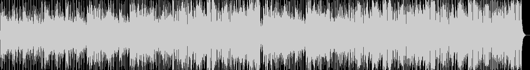軽快なピアノがさわやかなフュージョンの未再生の波形