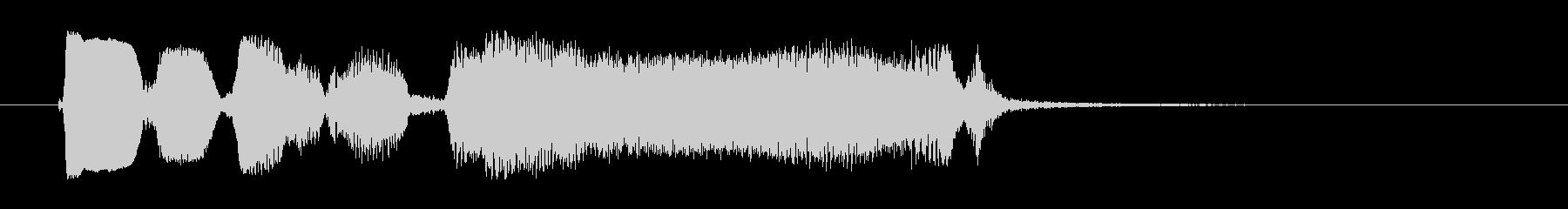 ブルースハープのジングルの未再生の波形