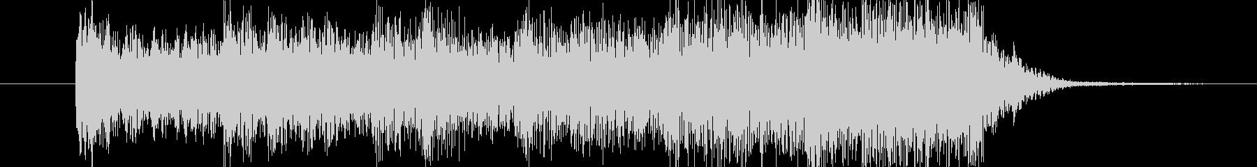 ホラーな破裂音 ロゴサウンドにどうぞの未再生の波形
