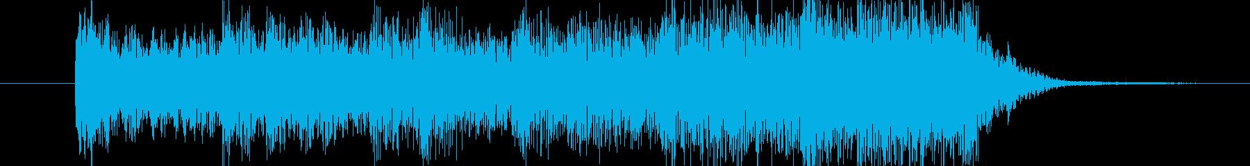 ホラーな破裂音 ロゴサウンドにどうぞの再生済みの波形