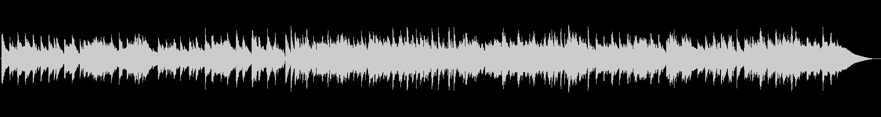 ゆったりジャズ ピアノ ベース ブラシの未再生の波形