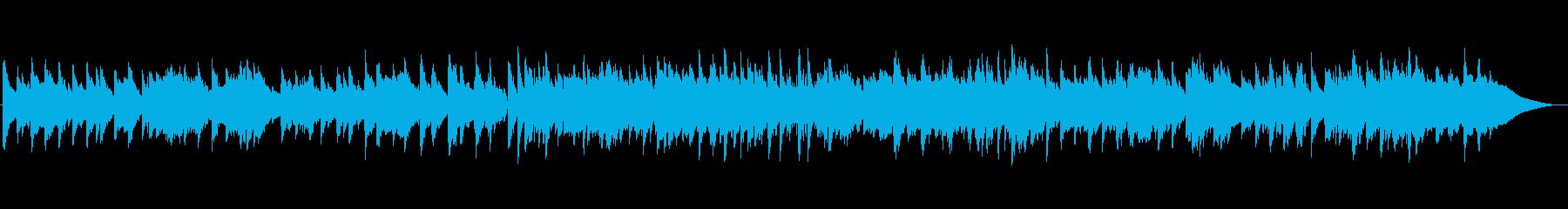 ゆったりジャズ ピアノ ベース ブラシの再生済みの波形