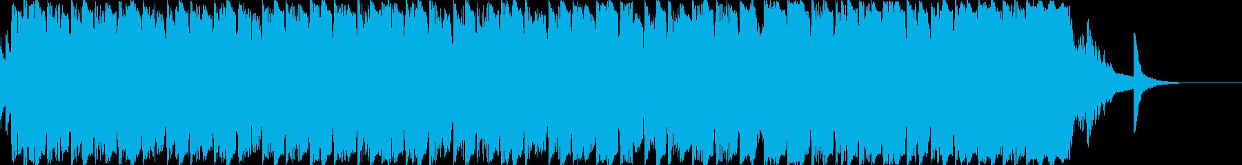 和風・ダンス・カッコイイ・ジングルDの再生済みの波形