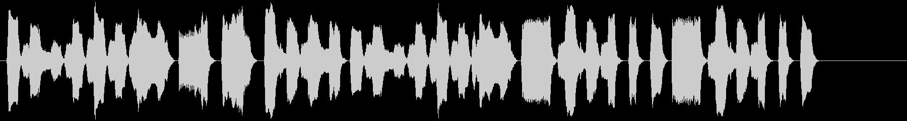 ピタゴラスイッチ風リコーダーBGMの未再生の波形