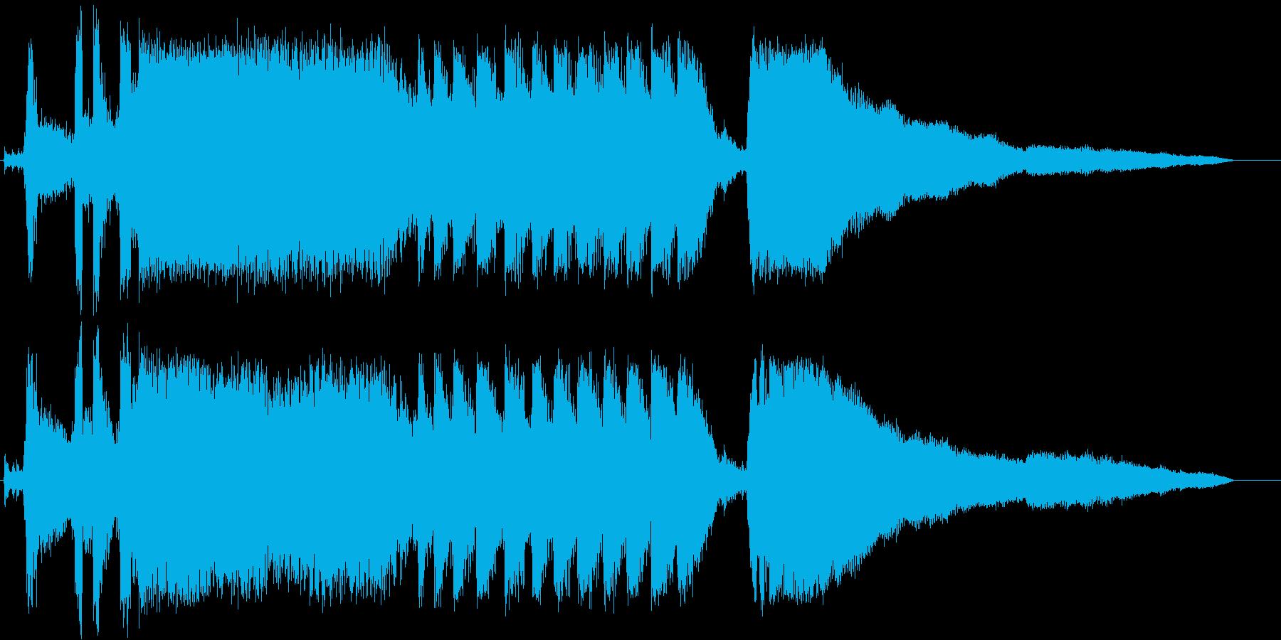 トラック;スタート/アウェイ;ディ...の再生済みの波形