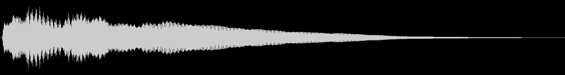 トッカータ風ジングル 06の未再生の波形