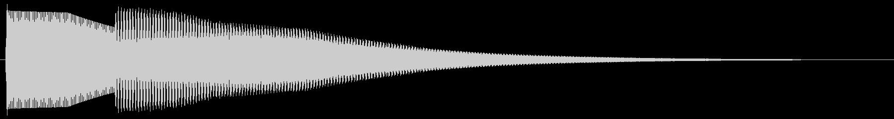 正解音 ピローン (クイズ回答風②)の未再生の波形