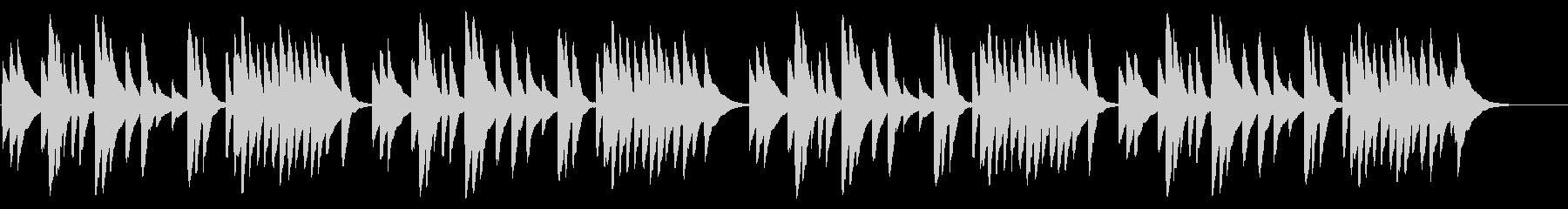 赤とんぼ 18弁オルゴールの未再生の波形