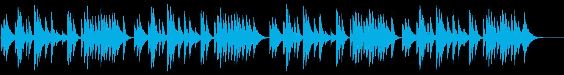 赤とんぼ 18弁オルゴールの再生済みの波形