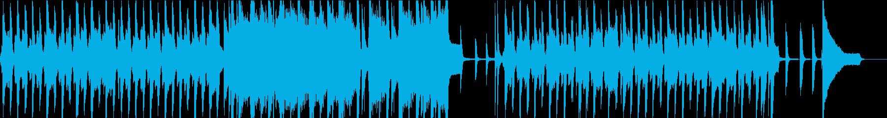 リコーダーでシャッフルのほのぼのポップスの再生済みの波形