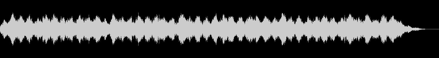 浮遊感漂う環境音楽の未再生の波形