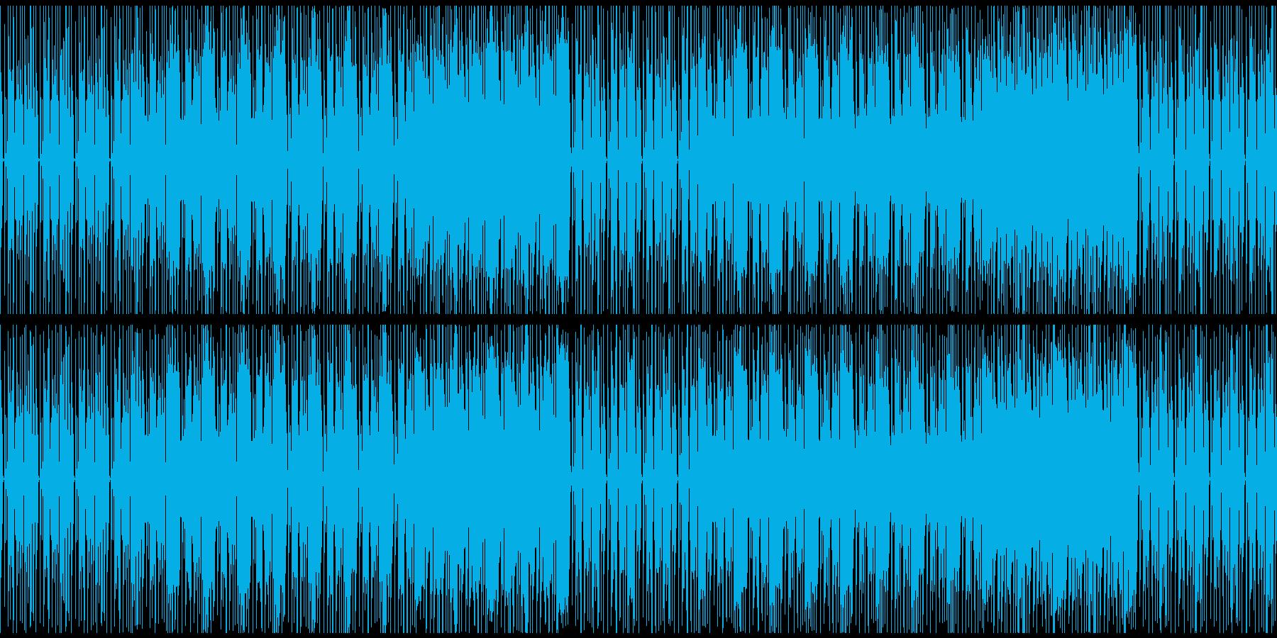 明るくファンキーだが少し切ないエレクトロの再生済みの波形