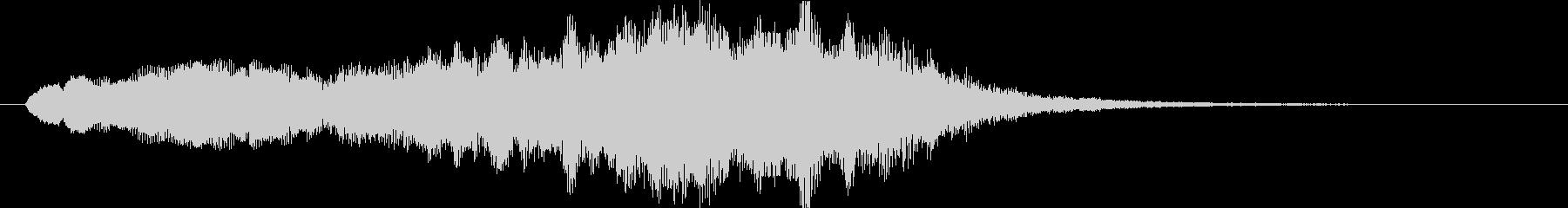 中世 ジングルオーケストラポジティブ03の未再生の波形