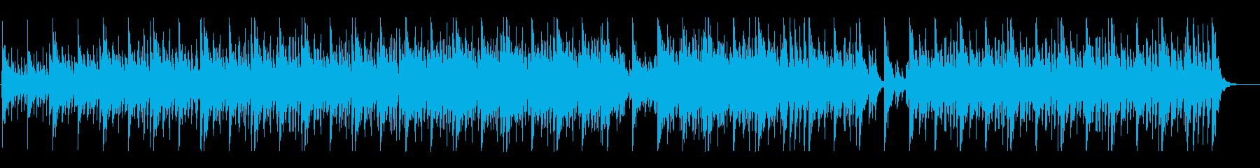 和太鼓と三味線の勇ましい楽曲ですの再生済みの波形