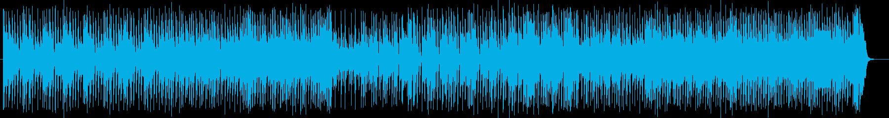 '80年代フュージョン的な明るいBGMの再生済みの波形