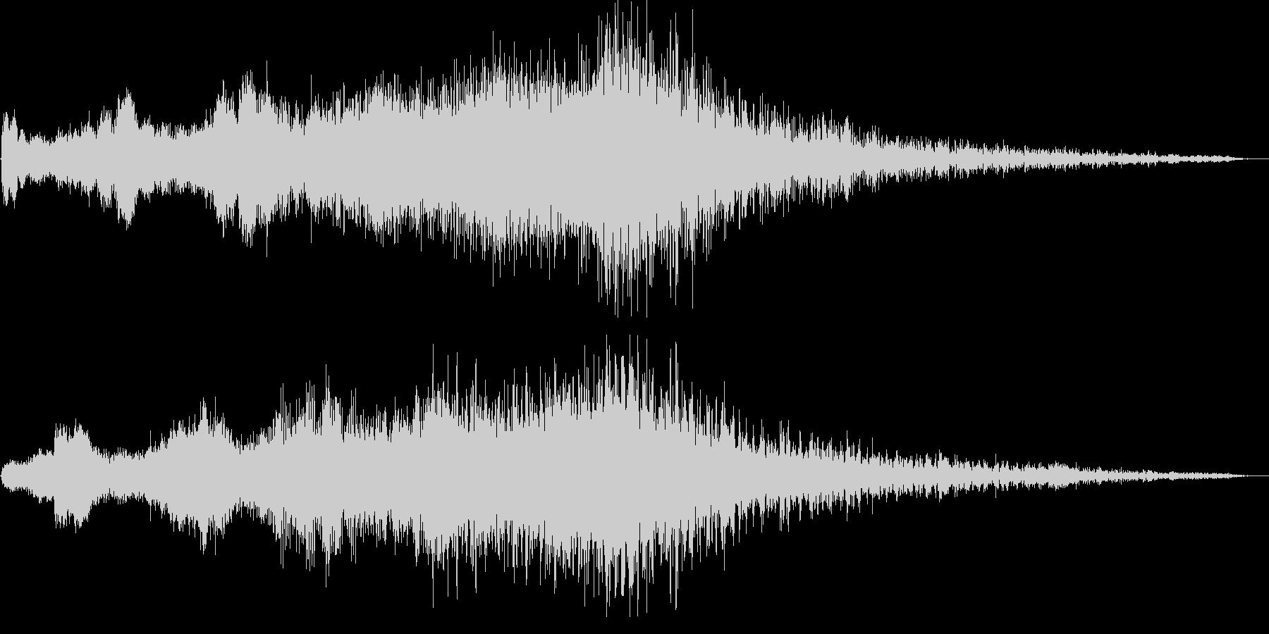 ホラー系SE(鐘・ストリングス)の未再生の波形