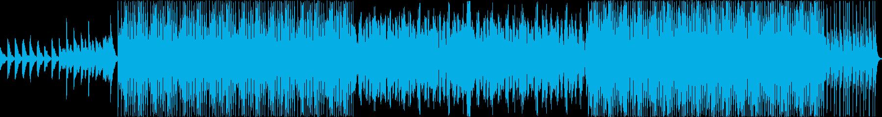 学校チャイムを基盤にしたエレクトロBGMの再生済みの波形