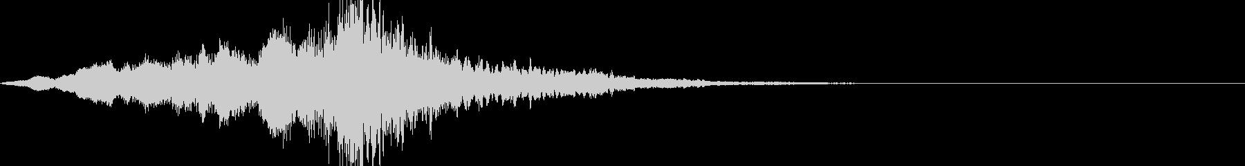 映画・映像用サウンドロゴ003(神秘)の未再生の波形