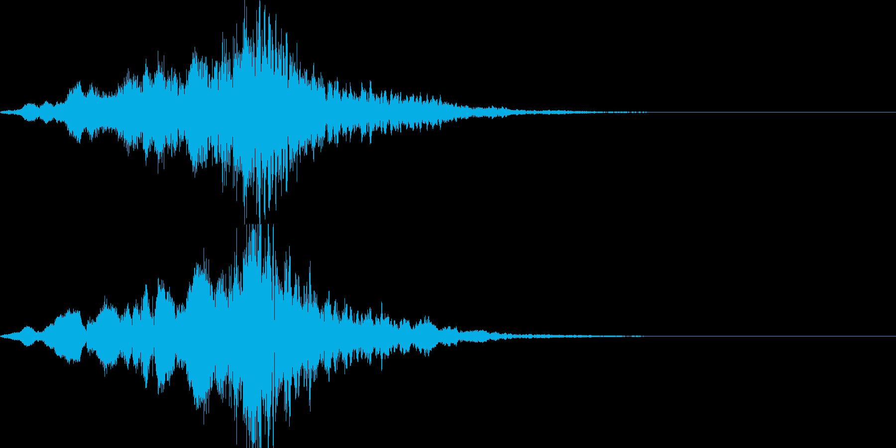 映画・映像用サウンドロゴ003(神秘)の再生済みの波形