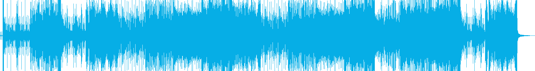 和太鼓と琴のUPテンポな和風ロックですの再生済みの波形