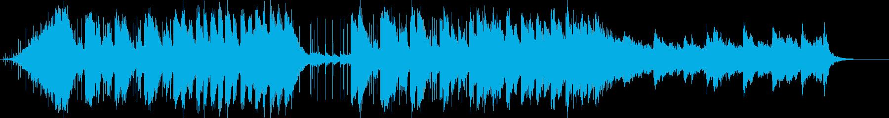 劇伴/ゲーム系!和風ピアノ・ストリングスの再生済みの波形