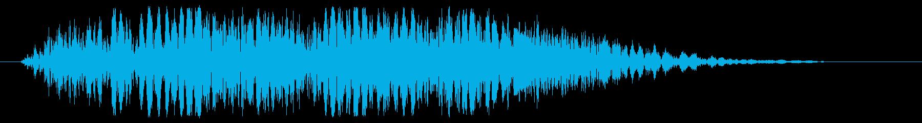 パンチやキックに最適な打撃音!06Hの再生済みの波形