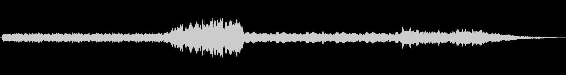 弦楽器がいくつかの合唱団とともにこ...の未再生の波形