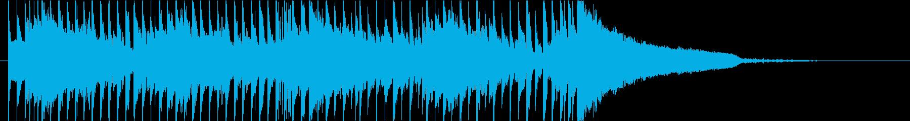 軽快なハウス・テクノ ジングルの再生済みの波形