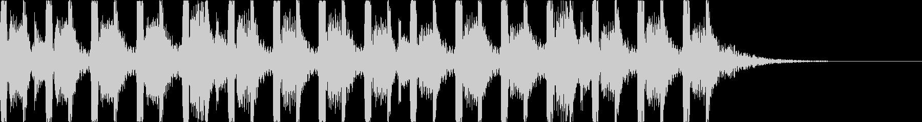 キャッチーでダークなEDM2の未再生の波形