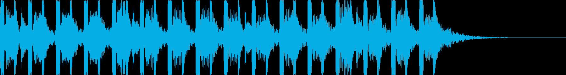 キャッチーでダークなEDM2の再生済みの波形