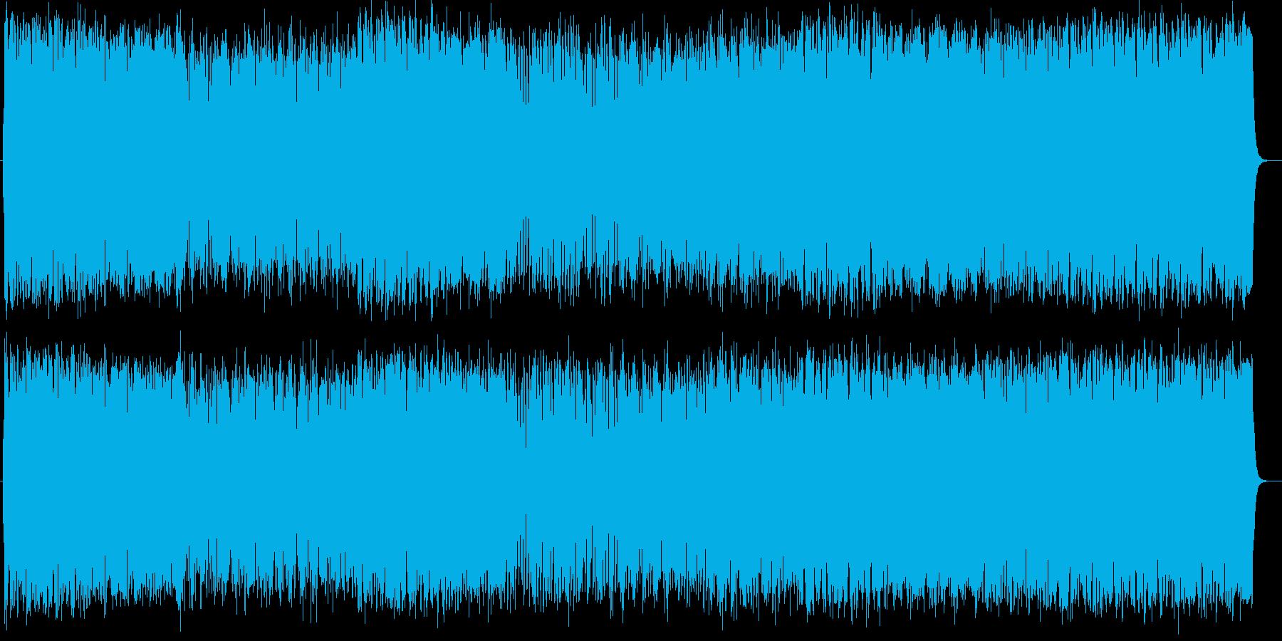 爽やかなポップスオーケストラの再生済みの波形