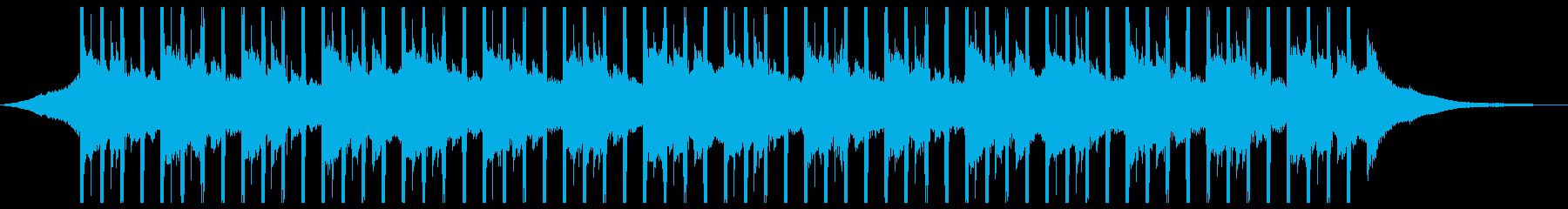 広告の背景(ショート2)の再生済みの波形