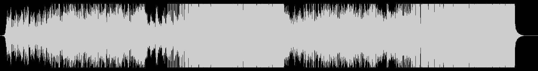 エモーショナルなフューチャーベースの未再生の波形