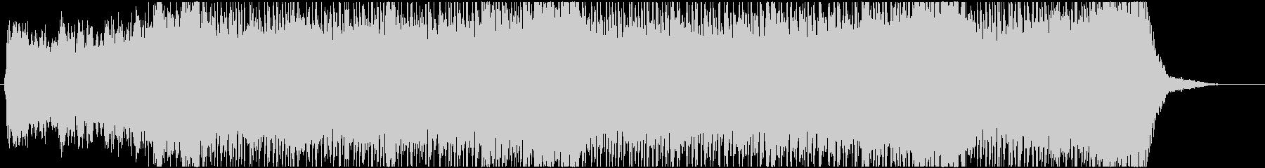 サスペンス系 不気味で激しい曲の未再生の波形