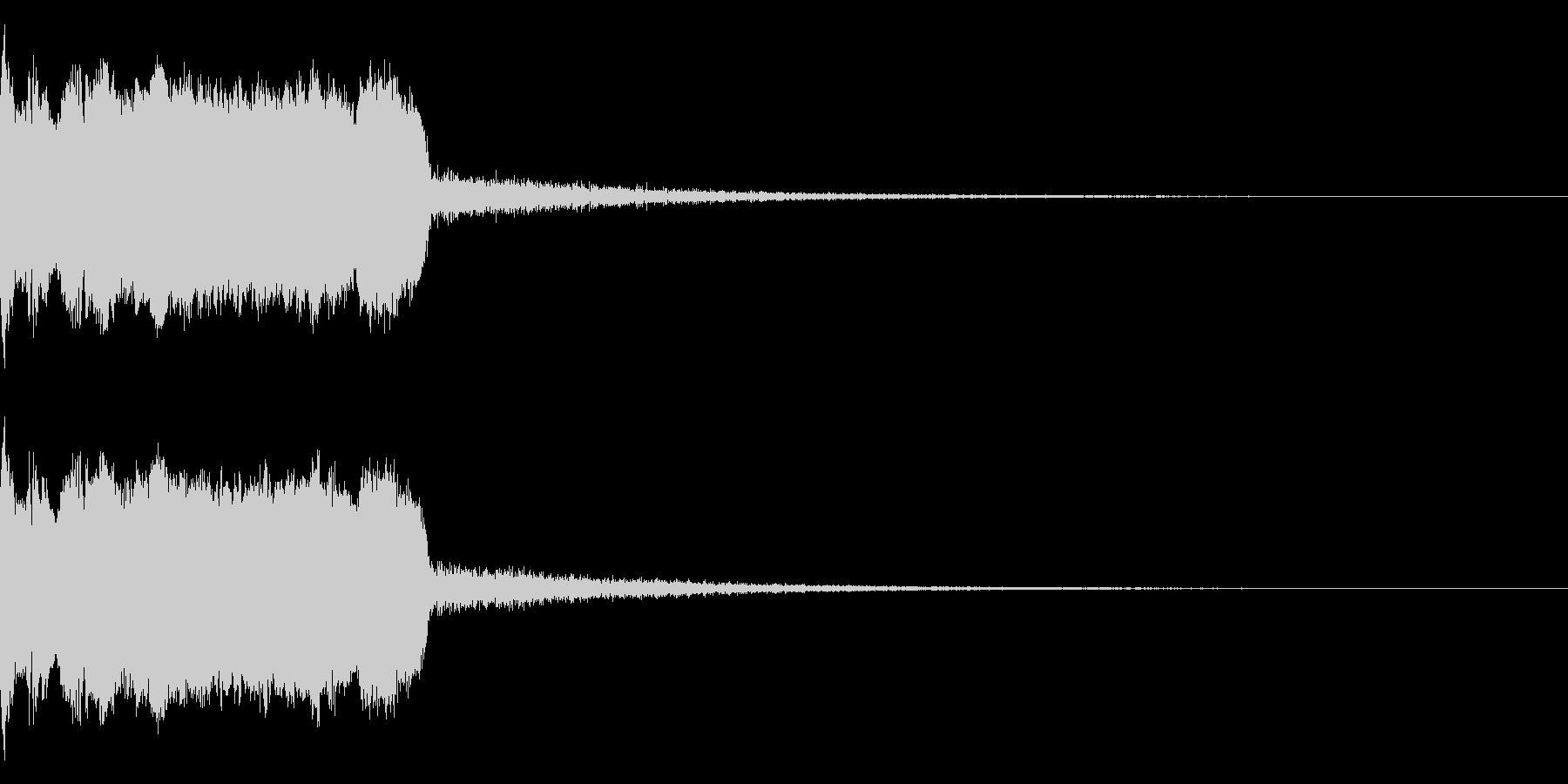 DJFX ヒットチャート発表前SE 31の未再生の波形