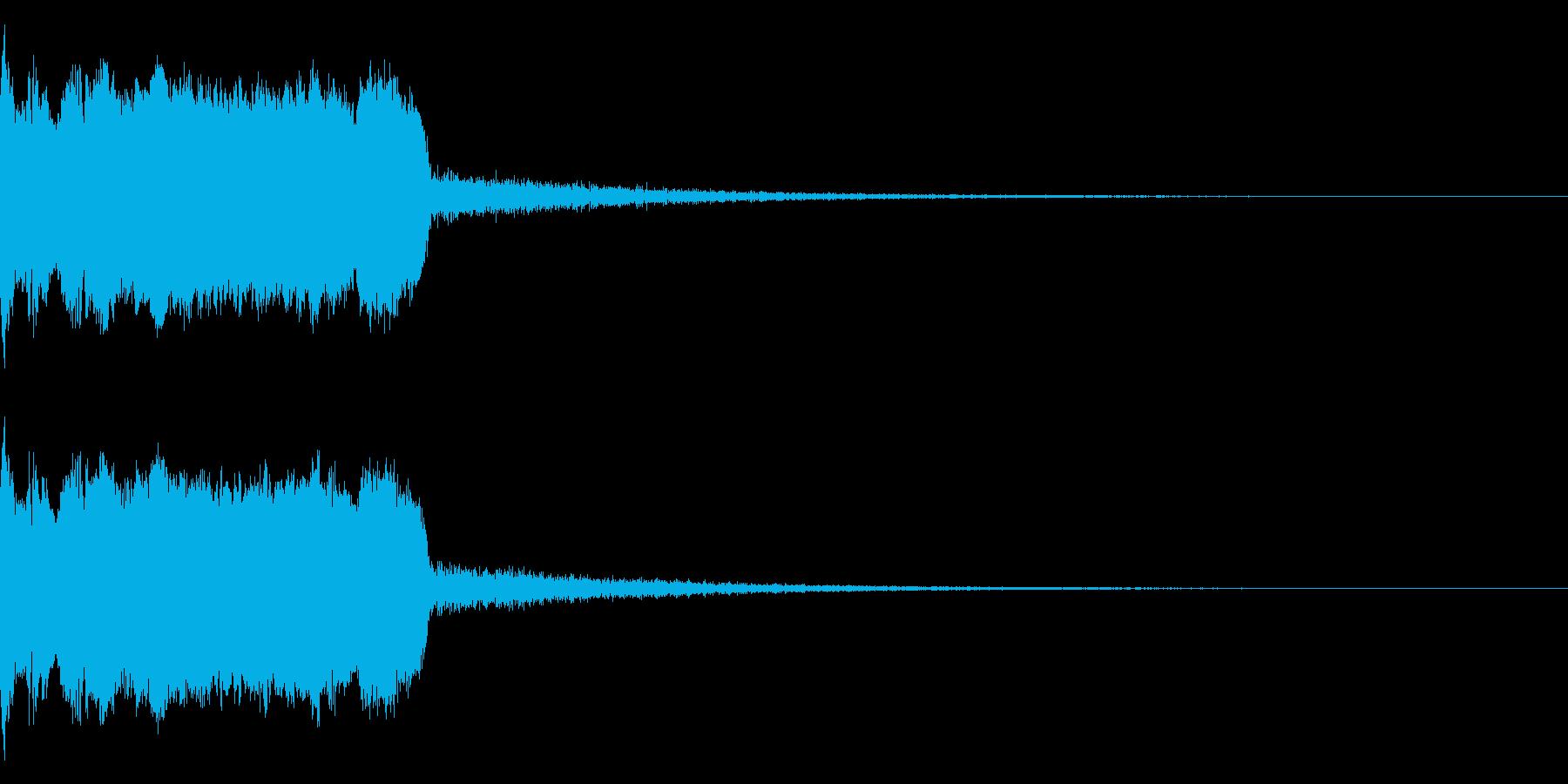 DJFX ヒットチャート発表前SE 31の再生済みの波形