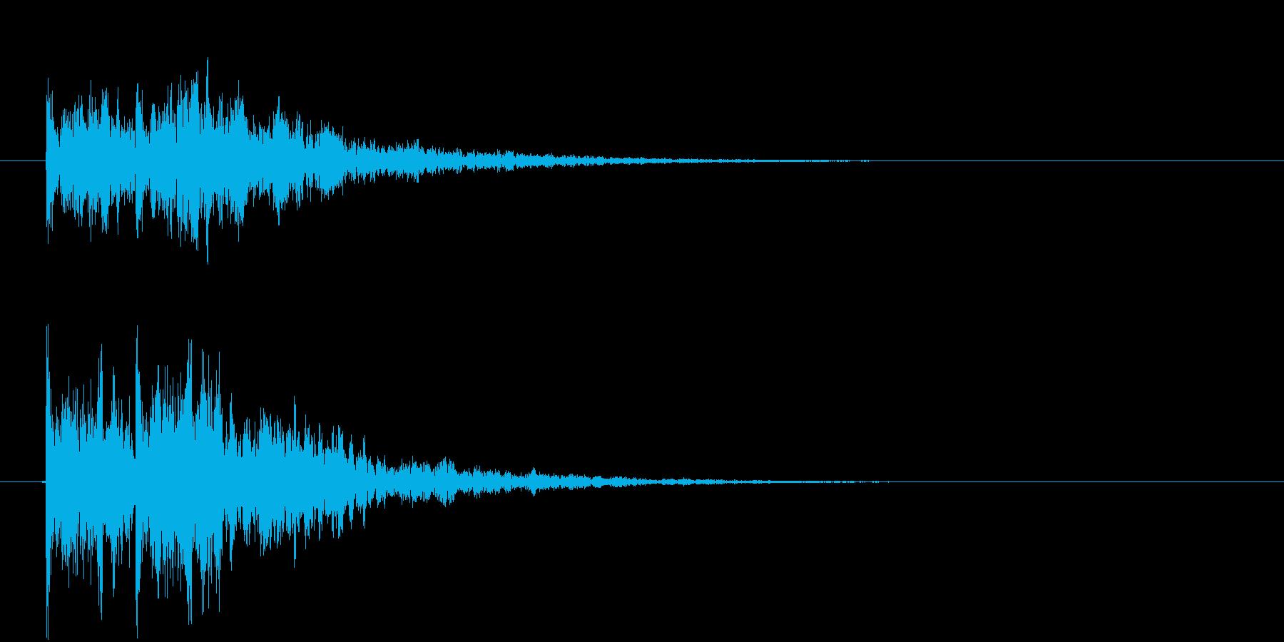 テテン!の再生済みの波形