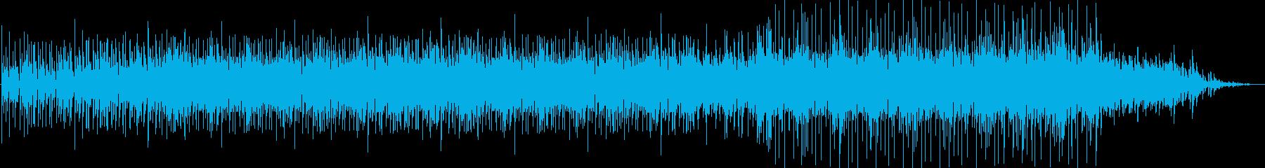 アコースティックギターによるロックの再生済みの波形